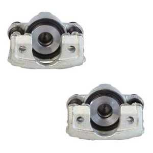 Rear Pair 2 Brake Caliper Without Bracket Fits 2003 2010 2011 Lincoln Town Car
