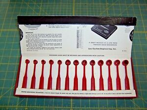 LEE Powder Measure Kit 13 Black DippersScoopsSpoons 69 Powder Combinations..RR