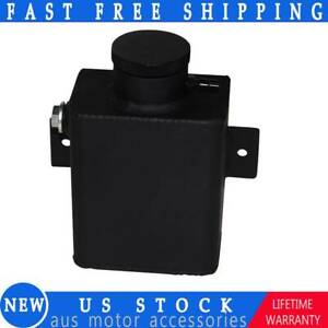 Universal Aluminum Coolant Overflow Bottle Tank Expansion Tank W Billet Cap
