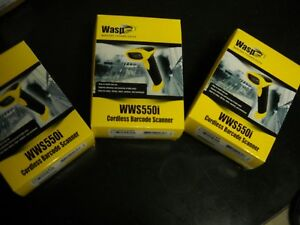 Wasp Wws550i Freedom Cordless Barcode Scanner Wireless Connec