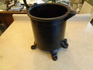 Enterprise 8 Qt Tank Sausage Stuffer Lard Fruit Wine Cider Press Jug Tub 2