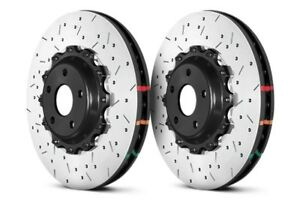 Dba Front 5000 Series Drilled Slotted Brake Rotors Pair For Subaru 04 17 Sti