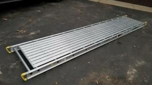 New 2712 Werner 12 Ft Long Two person 500lb Rated Scaffold Scaffolding Plank Pic
