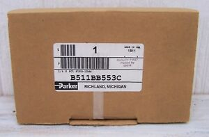 Parker B511bb553c 1 4 Port 120vac 4 way 2 position Solenoid Air Valve