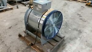 new Neco 24 Tube Axial Fan 04ac450a 5hp 3 Phase 460v 13 000 Cfm