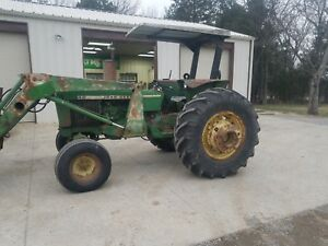 John Deere 2640 With John Deere Loader