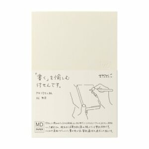 Midori Md Paper Sticky Memo A6 Blank 19032 006 F s New Made In Japan