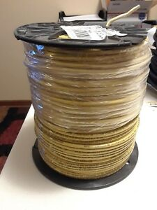 New 500 12 Awg Stranded Mtw Thwn Thhn Copper Electrical Wire Yellow