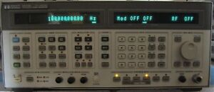 Hp Agilent 8644b 2060 Mhz Synthesized Signal Generator W Opt Nist Calibrated