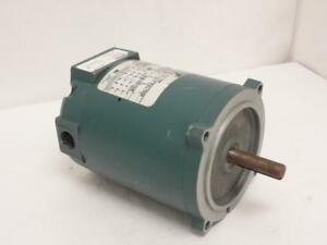 158058 Old stock Reliance P56h3003r Ac Motor 1 4hp 208 230 460 480v 1725rpm