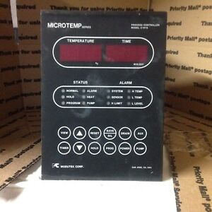 Modutek Microtemp Series C1915 C1915a Industrial Process Controller Wet Bench