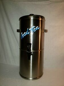 Curtis Streamliner Stainless Steel Commercial Iced Tea Dispenser Good Condition