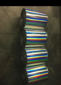 Hot Stamping Foil Kingsley Howard 4 X6 x200ft 1 core holographic Spectrum
