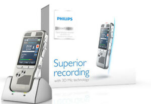 Philips Dpm 8000 Pocket Memo With Included External Mic