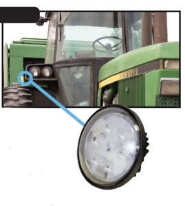 John Deere 2040 9000 Tractors Older Combines Led Cab fender hood Light