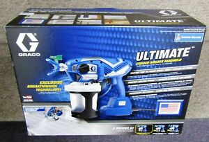 New Graco Ultimate Corded Airless Handheld Paint Sprayer 17n162