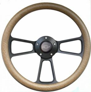 1995 2002 Chevy Full Size Trucks Steering Wheel Kit Textured Tan