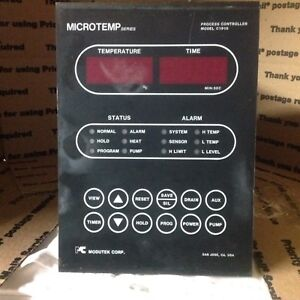 Modutek Microtemp Series C1915 C1915a 772 Process Controller Wet Bench