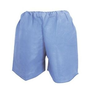 Mckesson Exam Shorts X large Blue Sms Adult Disposable Case Of 100