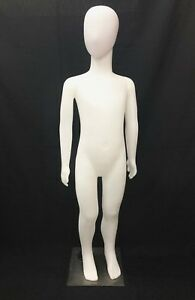 Full Body Plastic Covered Children Mannequin Dress Form Display 6 7 Year