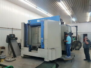 Hitachi Seiki Hs 630 Cnc Hmc Horizontal Machining Center