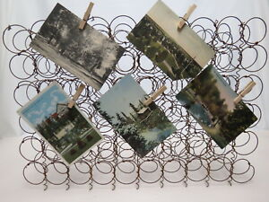 60 Mini Rusty Bed Springs 8 X12 Wall Decor Picture Board Organizer Crafts Shabby