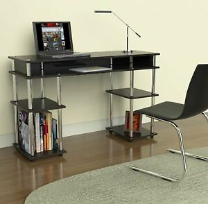 Compact Desk Work Office Writing Small Computer Table Laptop Small Space Dorm Pc