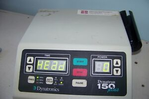 Dynatronics Dynatron 150 Plus Missing Wand But Powers Up Ultrasound Therapy