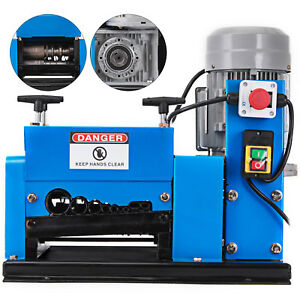 New Wire Stripping Machine 1 5kw 110v Cable Copper Stripper Recycler Scrap