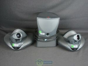 Polycom Vsx 7000 Video Conference Equipment Lot
