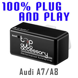 Performance Tuning Tuner Speed Obdii Obd2 Chip Module Ecu Map For Audi A7 A8