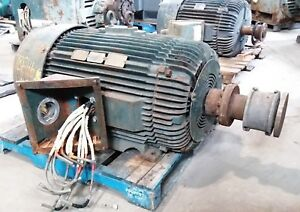 300 Hp Relaince Electric Motor 3600 Rpm 449ts Tefc 460 V 1 15 S f