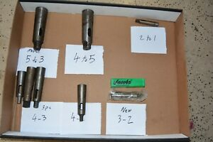 Sets Of 8 Morse Taper Adapter 5 4 5 3 4 2 4 3 3 2 2 1