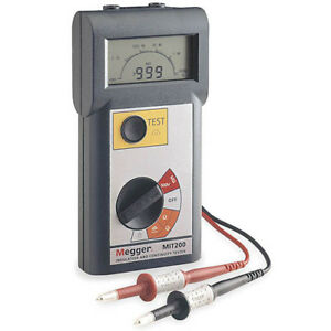 Megger Mit200 500 V Insulation And Continuity Tester
