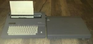 Smith Corona Electronic Electric Typewriter Sl470 working Condition With Ribbon