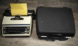 Electric Typewriter Brother Cassette Correction L10 Plus 3 Works