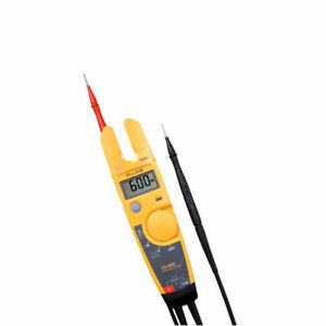 Fluke T5 600 600v Voltage Continuity And Current Electrical Tester