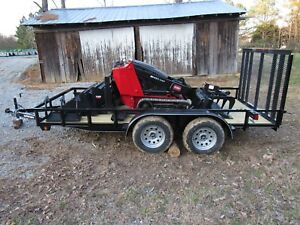 2013 Toro Dingo Tx427 Track Skid Steer With Trailer And Attachments Ship 500