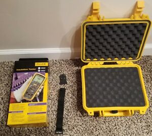 Fluke 1507 Insulation Tester Multimeter Brand New Hard Case Tpak Magnet