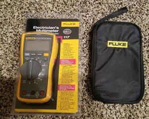 Fluke 117 Meter With Fluke Leads And Soft Case All Brand New 116 115