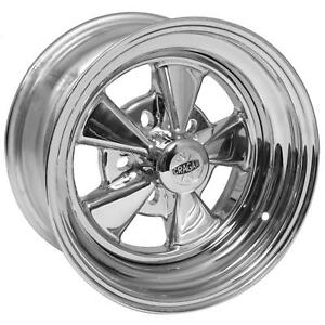 Cragar Ss Super Sport Direct Drill 15x8 5x4 1 2 2pc Chrome Pair Wheels 61c581242