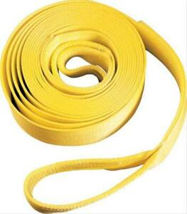 Smittybilt Cc220 Tow Strap Recovery Strap 2 X 20 Ft Rated 20000 Lbs