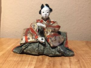 Antique Vintage Japanese Gofun Doll 4 Tall