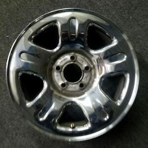16 Inch Chrome Ford Explorer 2002 2003 2004 Oe Om Factory Steel Wheel Rim 3452a