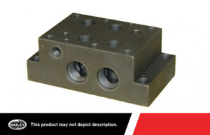 New Daman Hydraulic Valves Accessories D08 Subplate With Relief Cavity 220548
