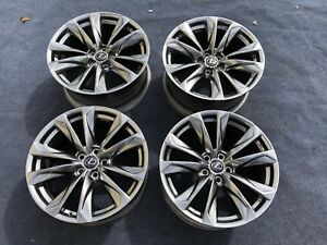4 Genuine Lexus Ls 500 F Sport Wheels Oem Factory Rare Rims 2019