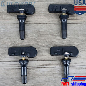 Set Of 4 Pcs Gm Oem New Tpms Tire Pressure Monitoring Sensors Chevy Gmc 13586335