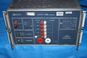 Valhalla Scientific 2555a Ac dc Current Calibrator Powers On untested