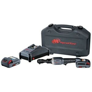 3 8 20v Cordless Ratchet Wrench With Charger And 2 Li Ion 2 5 Ah Batteries