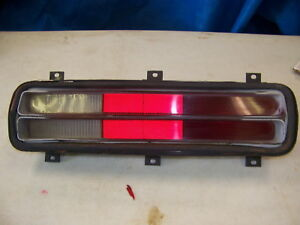 1972 Plymouth Duster Rh Taillight Oem 3587374